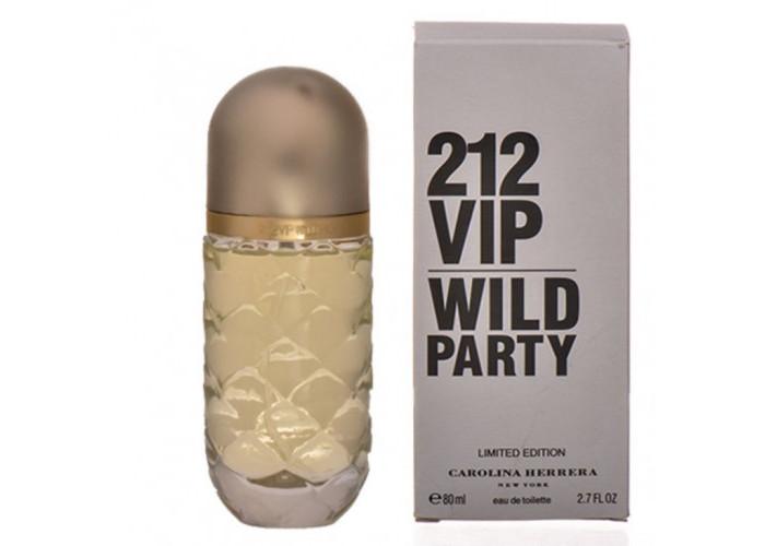 212 VIP Wild Party Carolina Herrera 80 мл Тестер