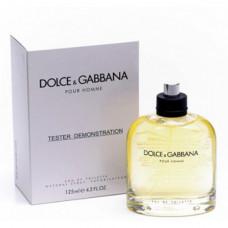 Dolce & Gabbana Pour Homme 125 мл Тестер