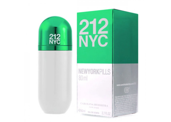 212 NYC Pills Carolina Herrera 80 мл
