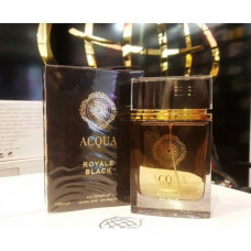 Acqua Royale Black Fragrance World 100 мл муж