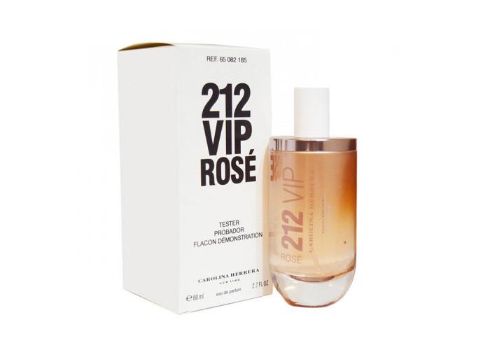 212 VIP Rose Carolina Herrera 80 мл Тестер