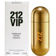 212 VIP Women Carolina Herrera 80 мл Тестер