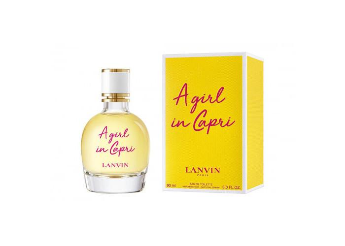 A Girl In Capri Lanvin edt 90 мл EURO